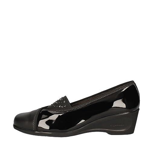 MELLUSO K90246 Mocasines Mujer Negro 38: Amazon.es: Zapatos y complementos
