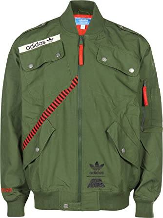Adidas Star Wars Flight Jacket, Strong Olive Size: S: Amazon