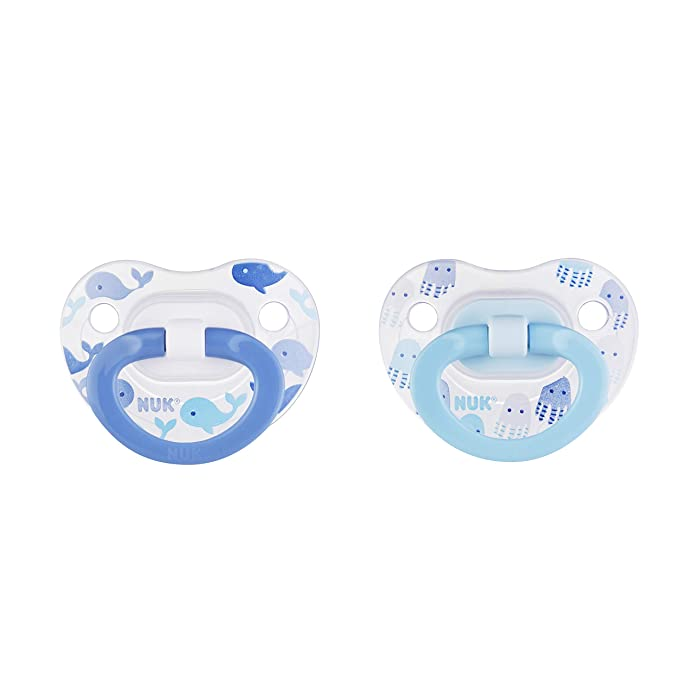 NUK Assorted Pacifier Size 0-6 months - Boy - 2pk