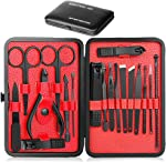 Epartswide Manicure Set,18pcs Stainless Steel Manicure Pedicure Set,Pedicure Kit Nail Clippers