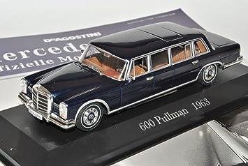 Ixo Mercedes Benz 600 Pullmann Limousine 1964 1981 W100 Inkl Zeitschrift Nr 4 1 43 Modell Auto Mit Individiuellem Wunschkennzeichen Spielzeug
