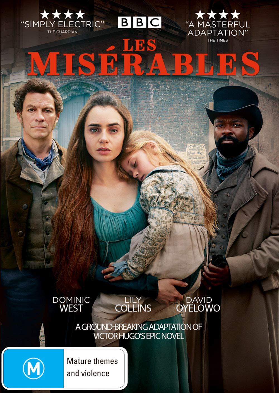 Amazon Com Les Miserables Lily Collins Dominic West David Oyelowo Adeel Akhtar David Bradley Ellie Bamber Olivia Colman Tom Shankland Movies Tv
