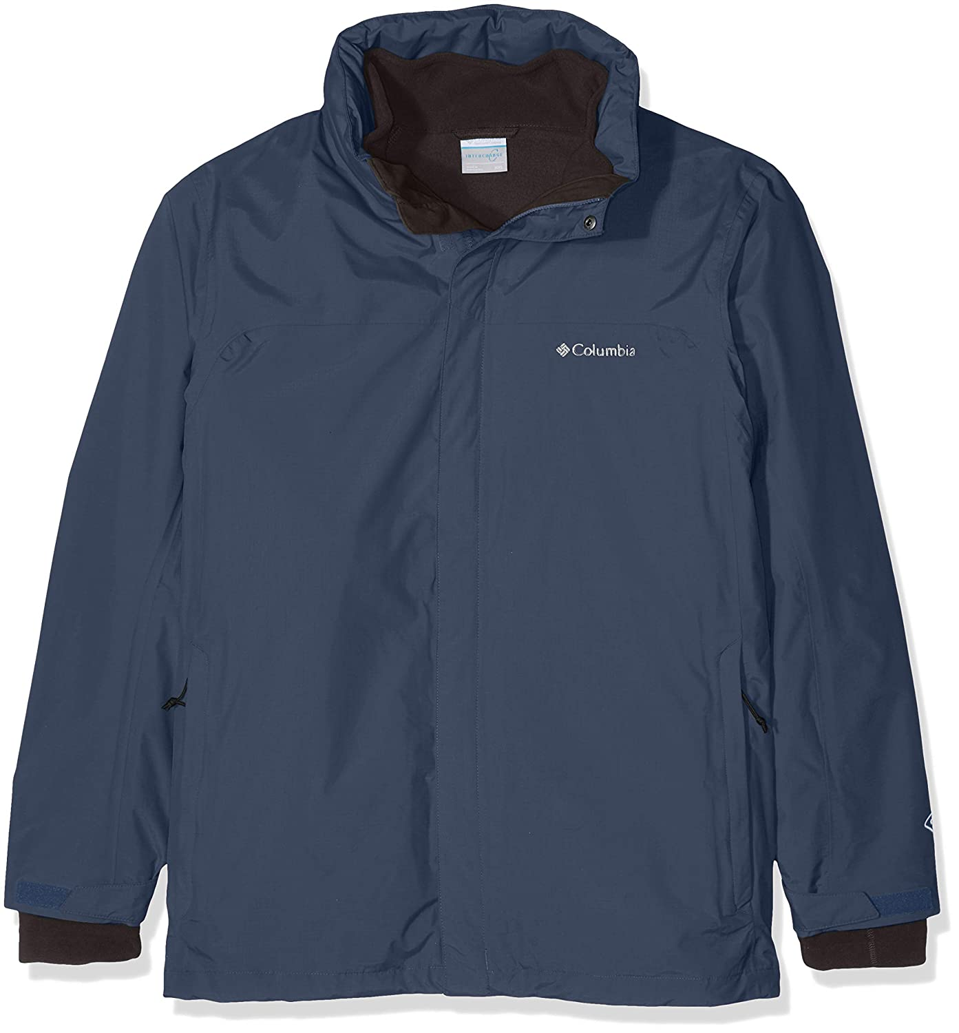 TALLA Talla M. Columbia Mission Air Interchange Jacket Chaqueta Impermeable, Poliéster, Hombre