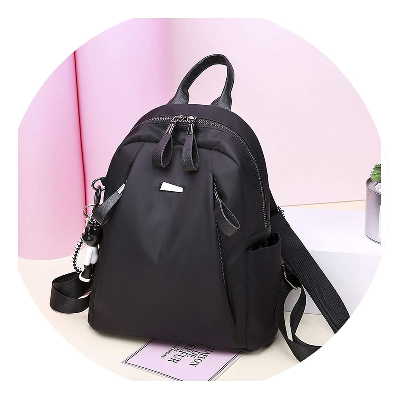 b38806bea7 Amazon.com  Oxford cloth shoulder bag female bag female college student  students wild fashion canvas backpack