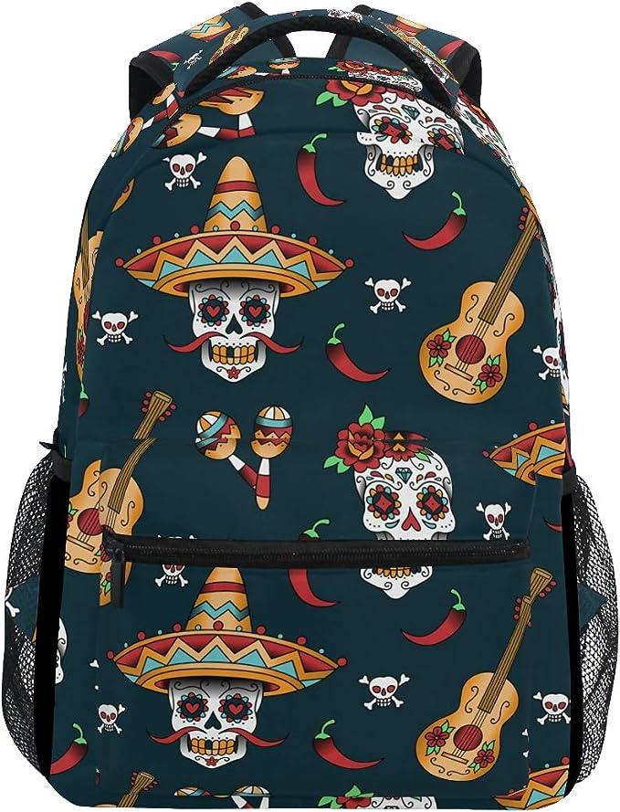 Acheter sac à dos école enfant tete de mort online 6