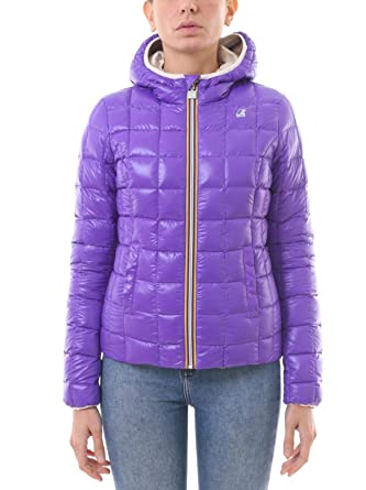 0736541d4c4a K-Way - Blouson - Femme - Rose - X-Small  Amazon.fr  Vêtements et ...