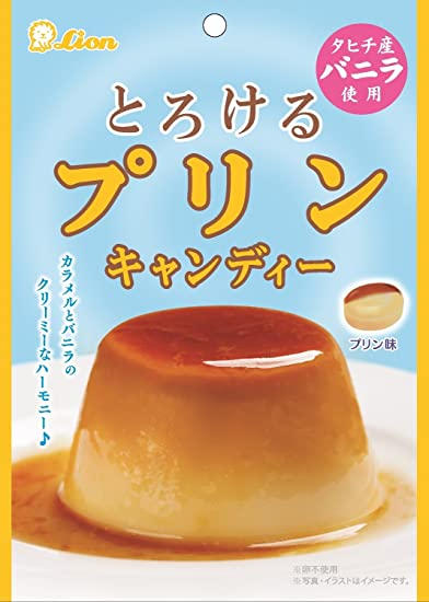 Lion confectionery melting pudding candy 70g ~ 6 bags [Parallel import]