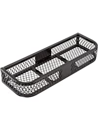 Rage Powersports ATVFB-3713 Black Front Mesh ATV Rack Basket