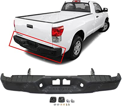 NEW Primered Steel Rear Step Bumper Face Bar for 2007-2013 Tundra Pickup 07-13