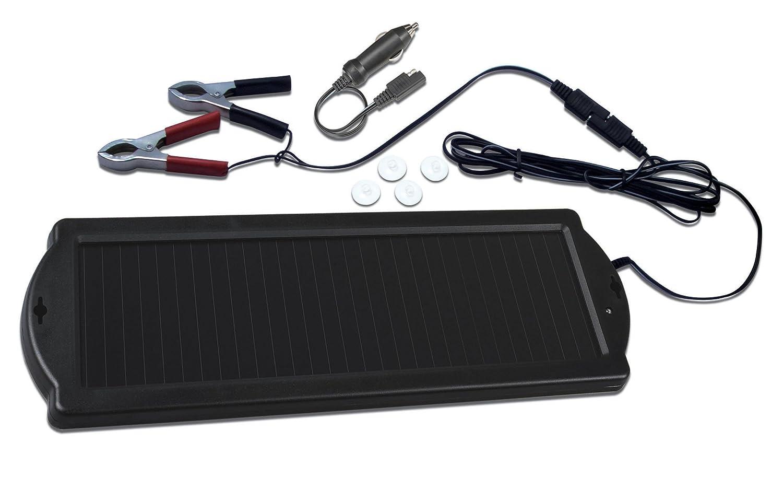 Solar L58BF - Cargador solar de batería para coche, caravana, barco (12 V)