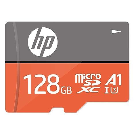 128GB U3, A1 MicroSDXC Tarjeta de Memoria de Alta Velocidad con Adaptador SD - HFUD128-1V31A