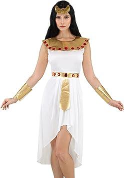 Disfraz de Cleopatra Emperatriz Egipcia Reina de Egipto para Mujer ...