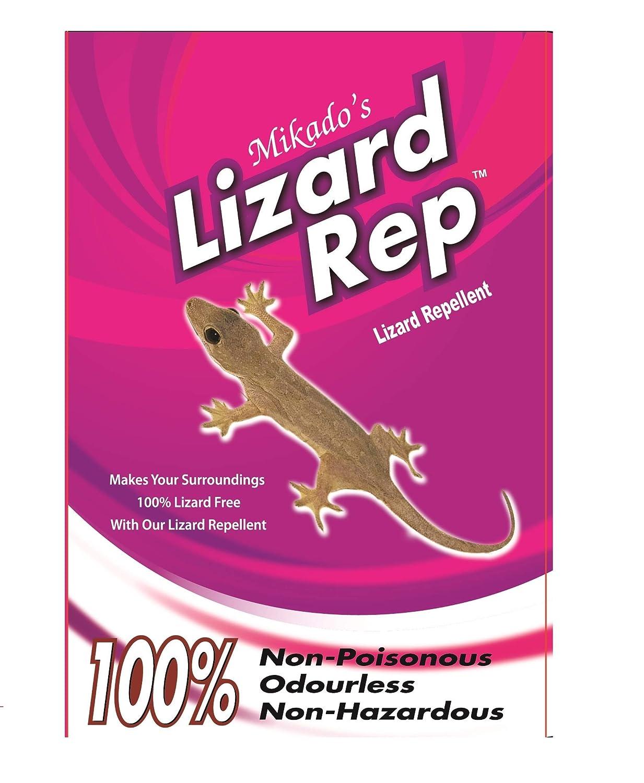 Mikados Organic Lizard Repellent Pack Of 2 Amazonin Garden Outdoors