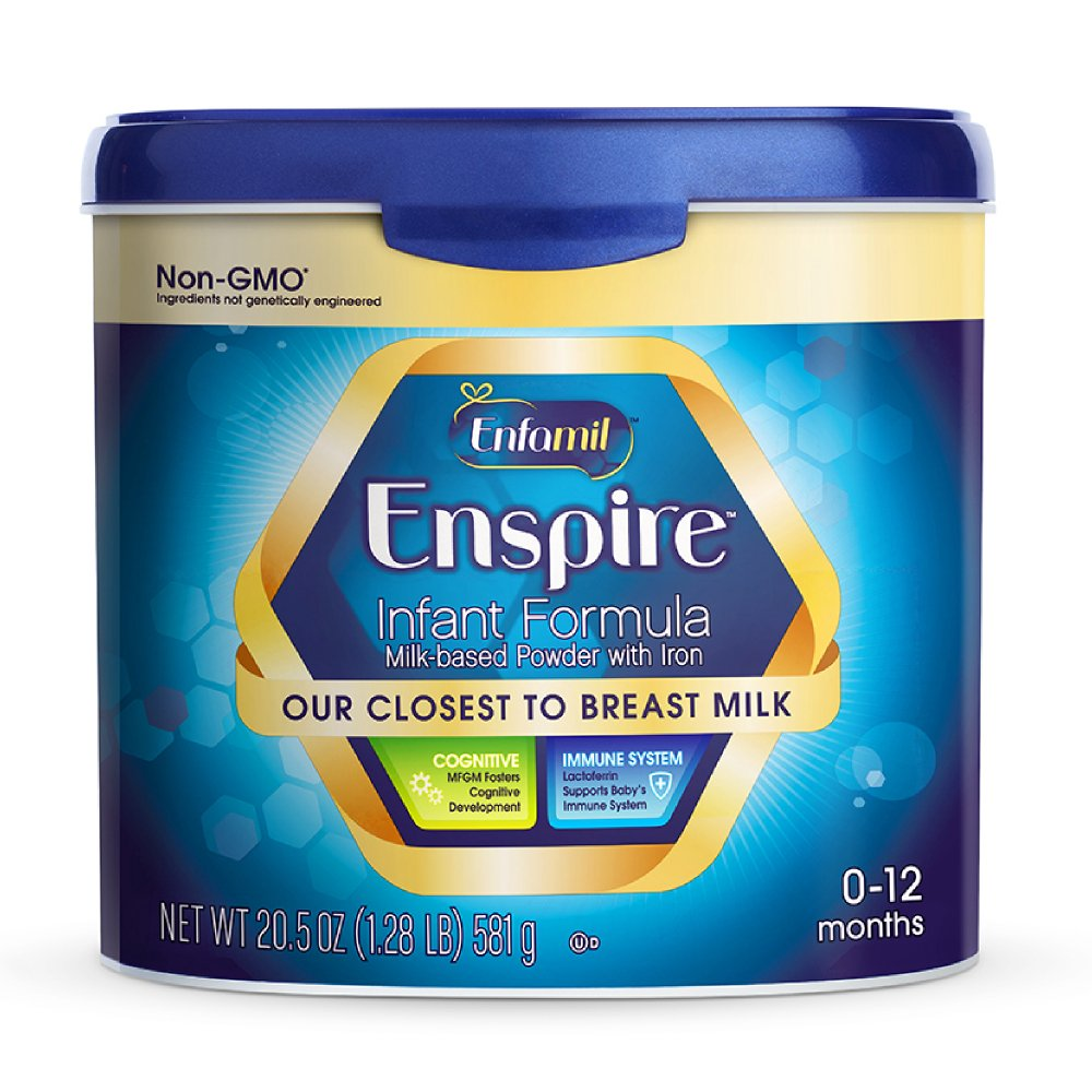 Enfamil Enspire Infant Formula - Our Closest to Breast Milk - Powder, 20.5oz Reusable Tub Mead Johnson Nutrition
