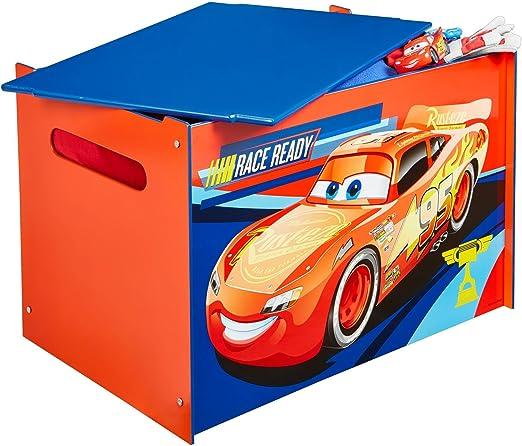 Fahrzeuge Spielzeugkiste für Kinder – Aufbewahrungsbox für