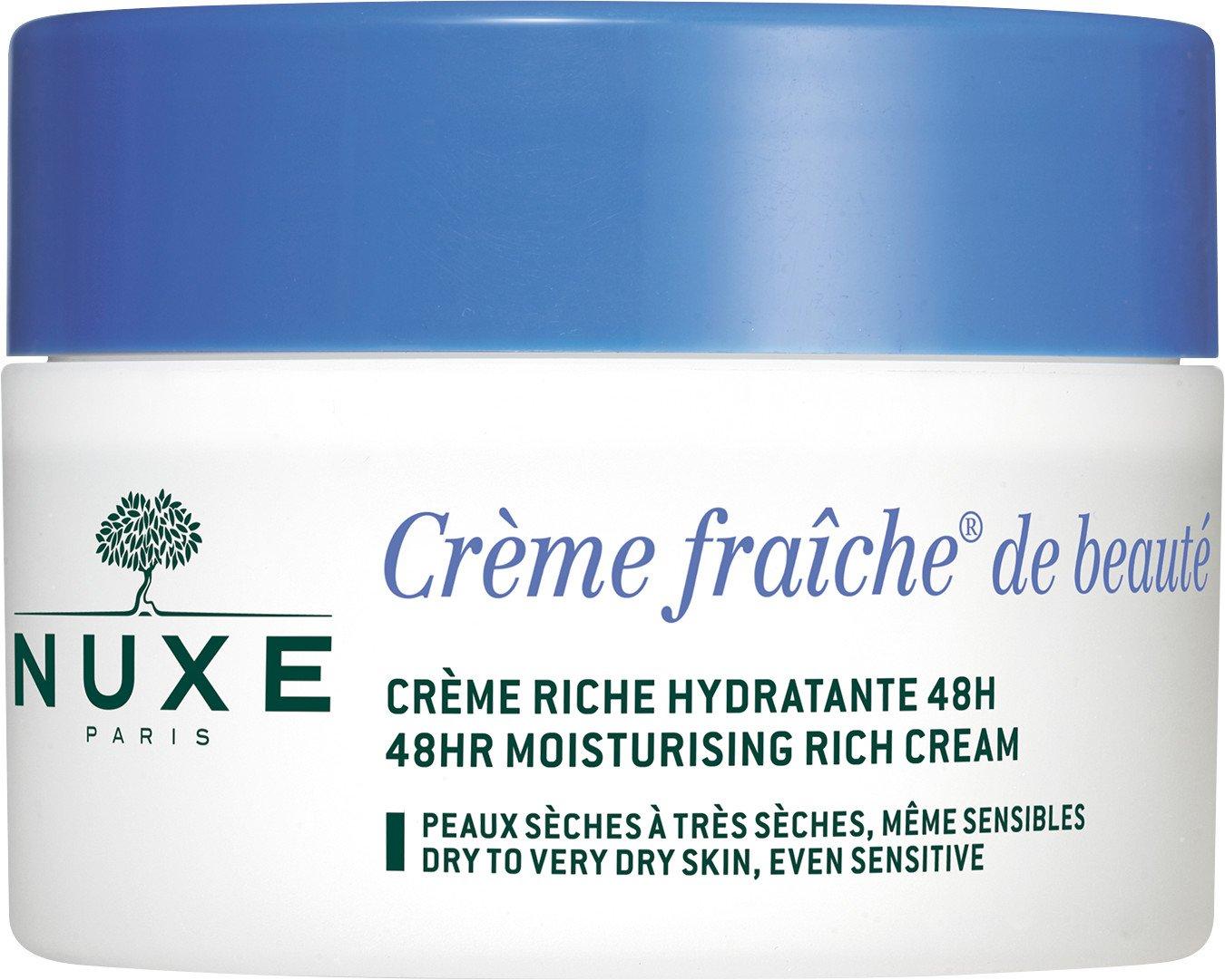 NUXE Creme Fraiche De Beaute 48hr Moisturising Rich Cream - Dry to Very Dry Skin 50ml NU2310