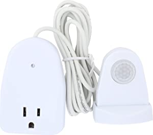 WESTEK Indoor Plug-In Corded Motion Activated Light Control MLC12BC-4 (1 Pack)