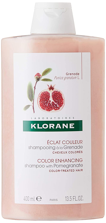 Klorane Shampoo with Pomegranate Mujeres No profesional Champú 400ml - Champues (Mujeres, No profesional, Champú, 400 ml, Protección del color, Granada)