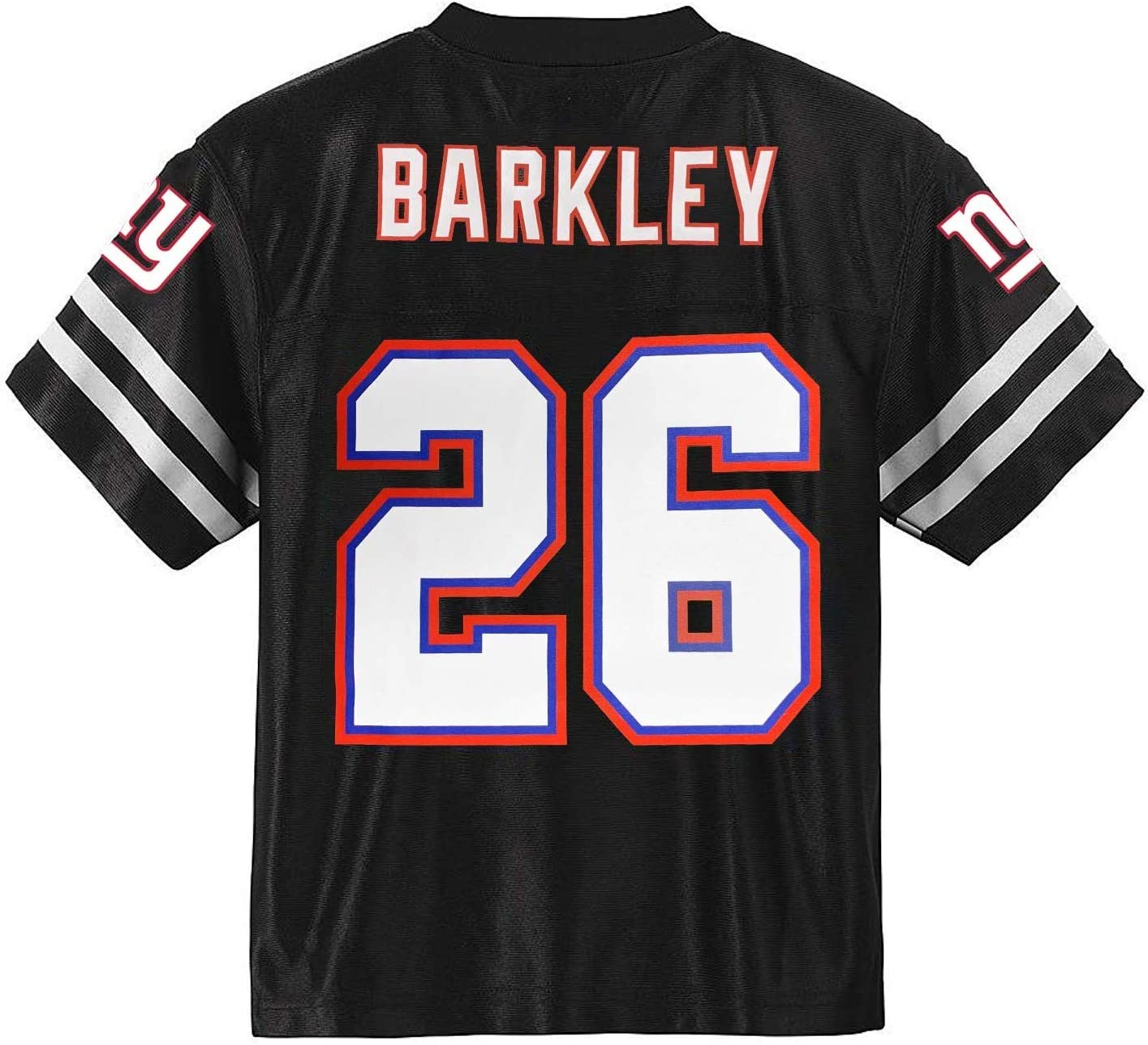 Outerstuff Saquon Barkley New York Giants Blackout Youth Alternate Player Jersey