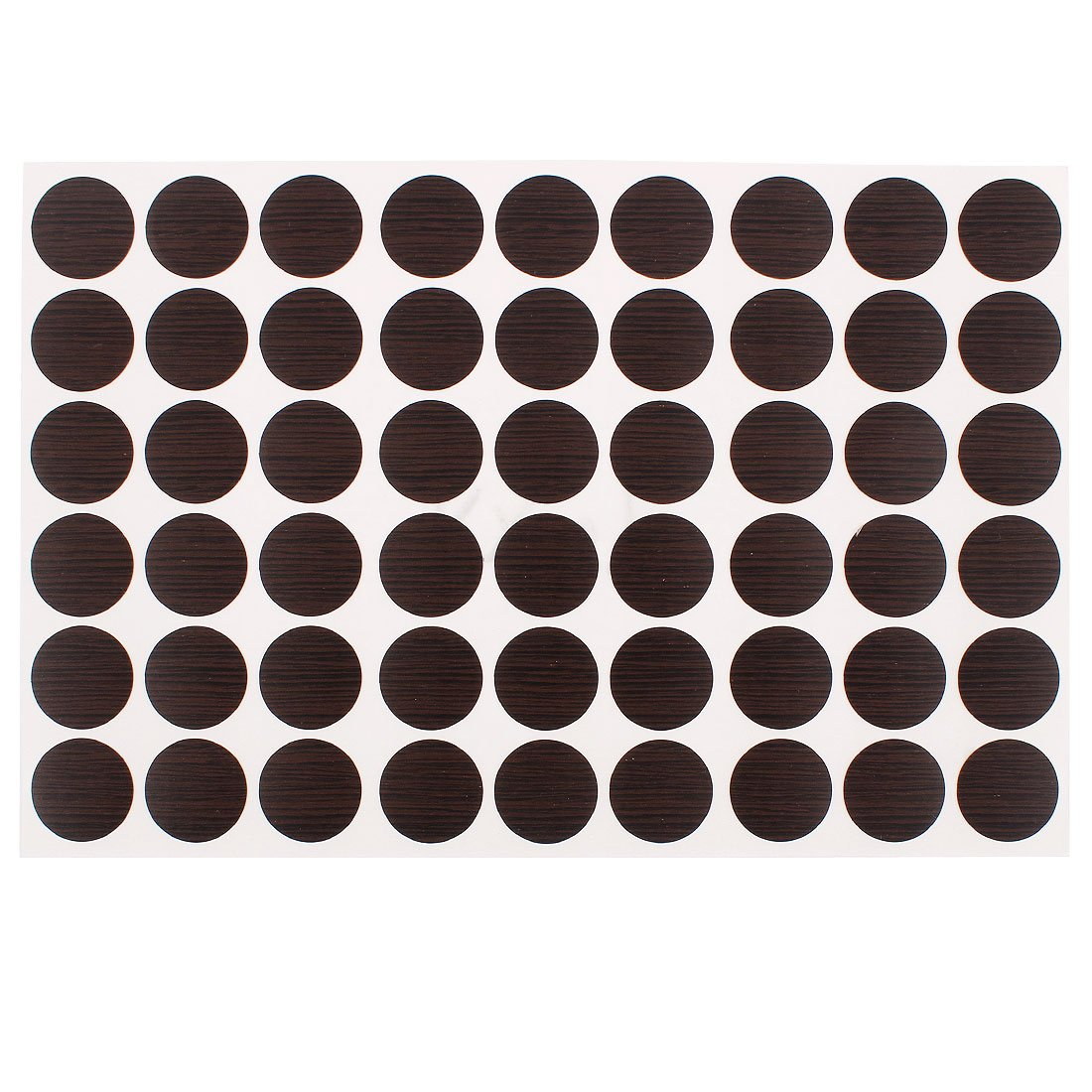 Home Office Self-Adhesive Screw Covers Caps Stickers 21mm Dia 54 in 1 uxcell a15112300ux1188