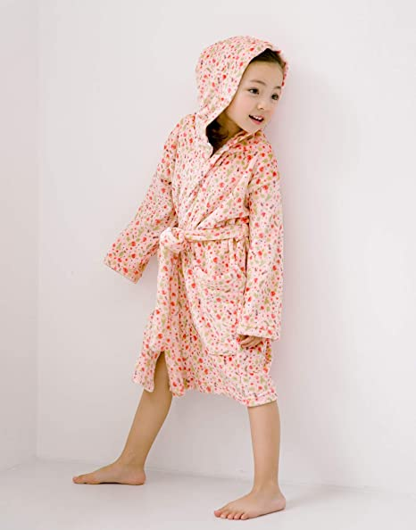 VAENAIT BABY Plush Fleece Girls Cover-up Beach Rain Cloud Pink M