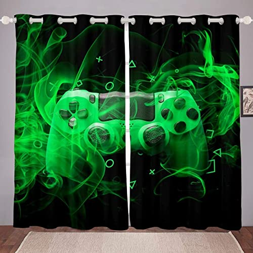 Reviewed: Feelyou Youth Gamepad Window Drapes Kids Gamer Curtain