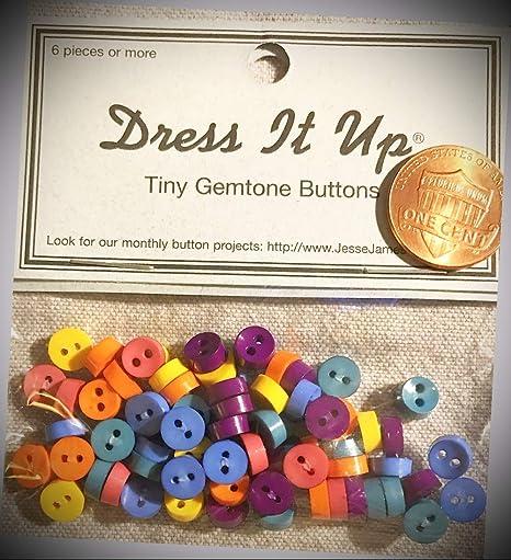 Jesse James Dress It Up Tiny Autumn Elements Buttons Embellishments