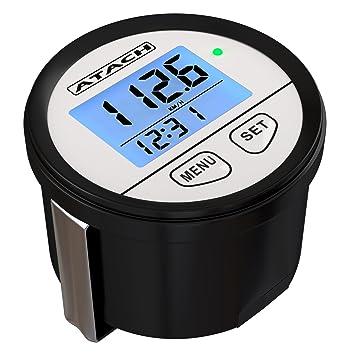 atach 60 mm digital GPS velocímetro con pantalla con retroiluminación y recordar de alta velocidad para