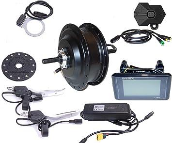 Bafang E-Bike RWD50048CASSC961 - Kit de conversión para Rueda Trasera de Bicicleta (500 W, 48 V, para Cassette 8/9/10 RWD, IP65, C961, G020): Amazon.es: Deportes y aire libre