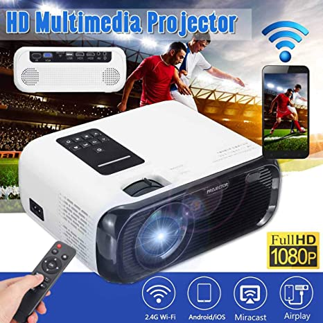Mini Proyector 720P HD, Proyector De Video Nativo De 1280X720 3000 ...