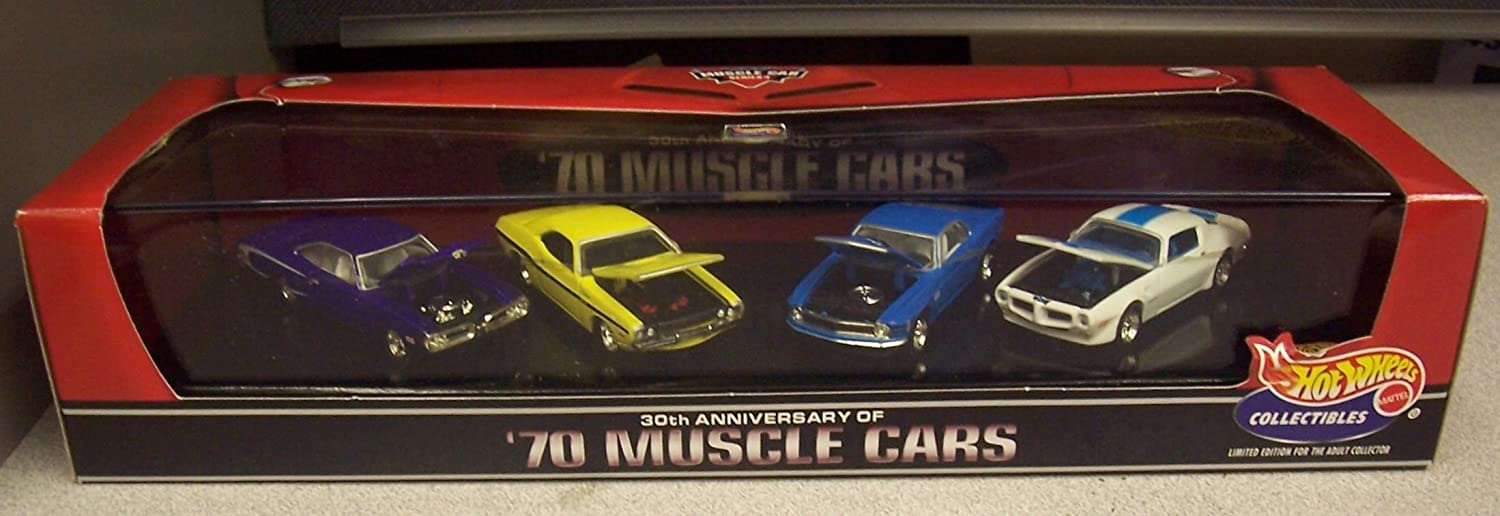 Hot Wheels 30th Anniversary '70 Muscle Cars Series 4