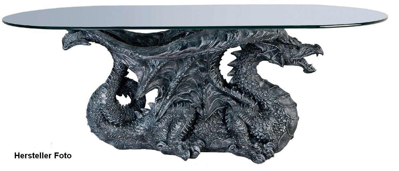 Drachentisch Wohnzimmertisch Beistelltisch Dragon Amazonde Kche Haushalt