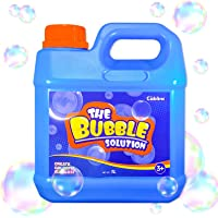 Giant Bubble Solution Refill (Up to 2.7 Gallon) 1L/35 Ounce, Concentrated Solution for Bubble Machine,Party,Bubble…