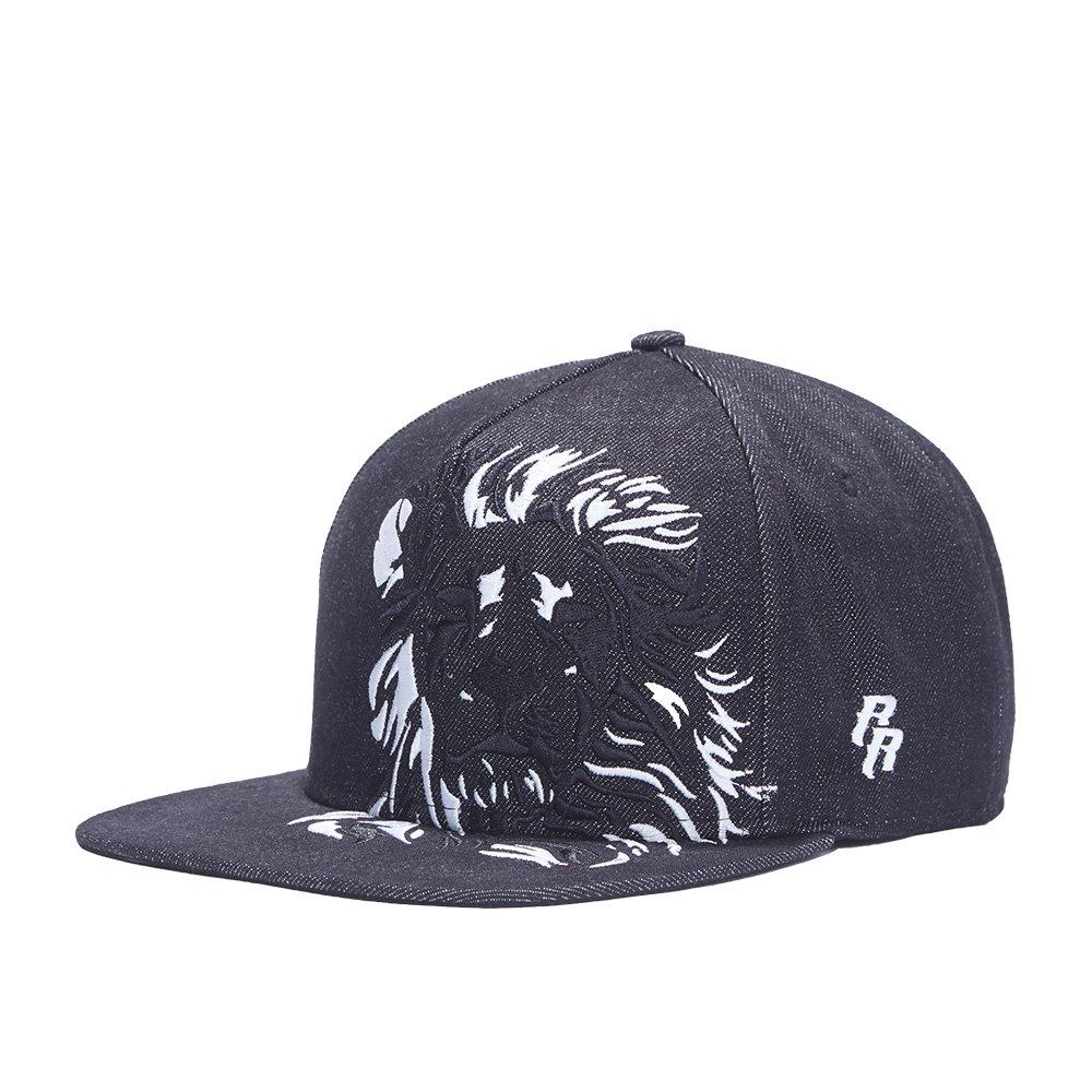 Riorex HAT ユニセックスアダルト メンズ B07CMSGXHR  Black-lion
