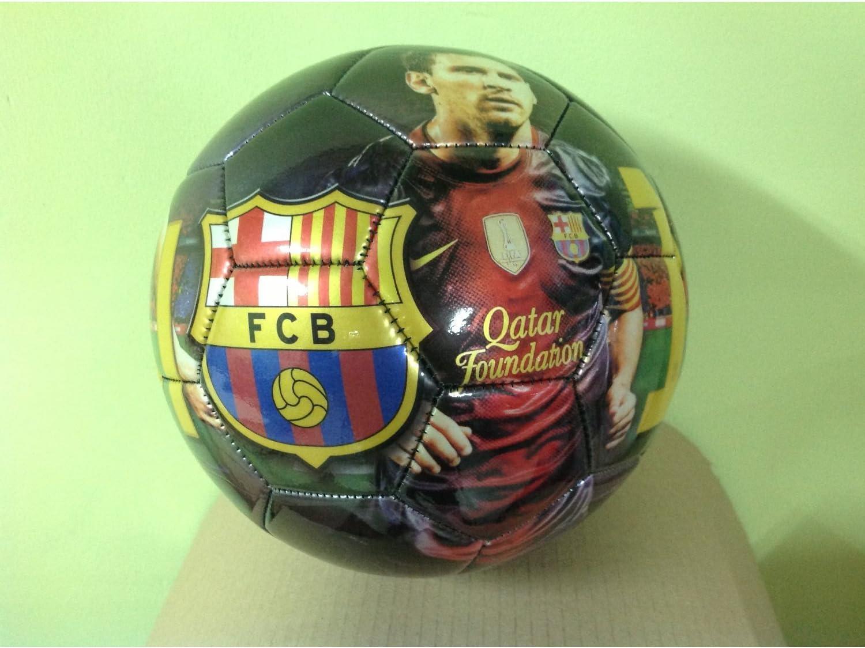 Balón F.C Barcelona Leo Messi: Amazon.es: Juguetes y juegos