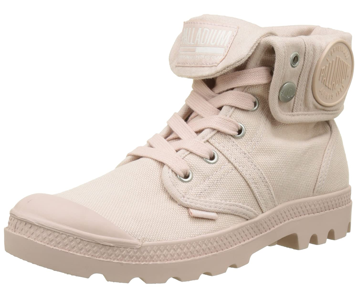 Rose (Peach Whip K74) Palladium Pallabrouse Baggy, Bottes & Bottines Bottines Souples Femme