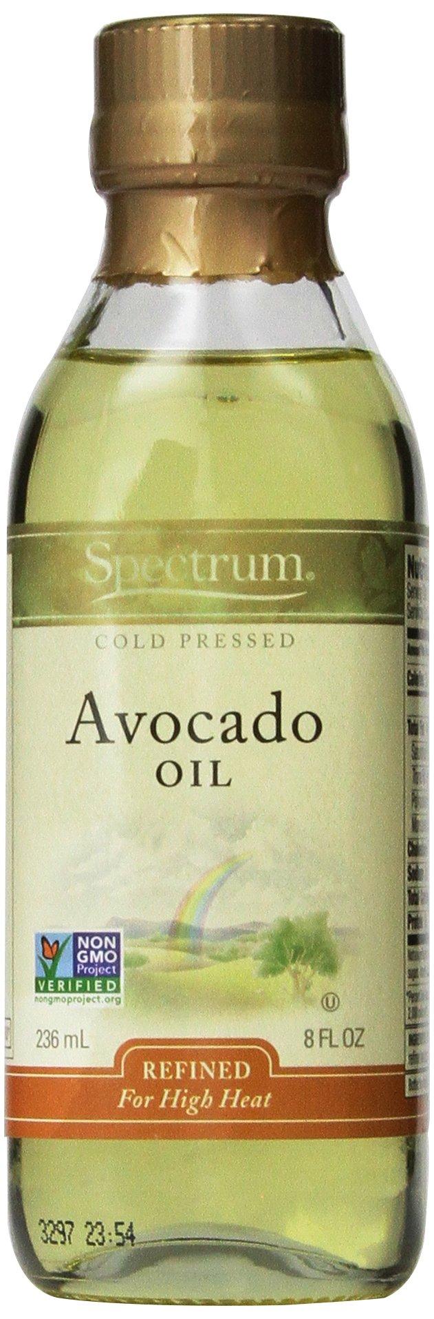 Spectrum Naturals Refined Avocado Oil, 8 oz