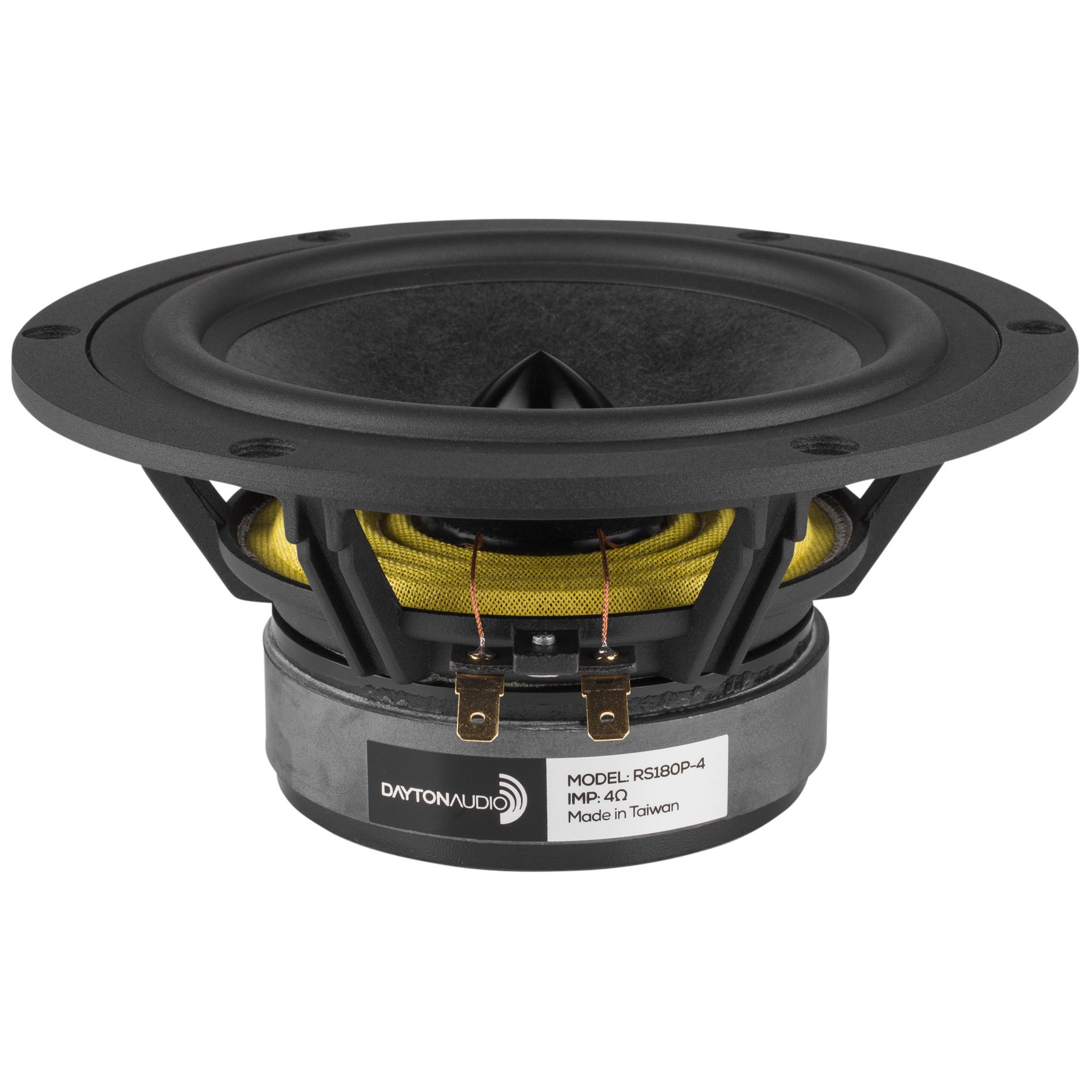 Dayton Audio RS180P-4 7'' Reference Paper Woofer 4 Ohm