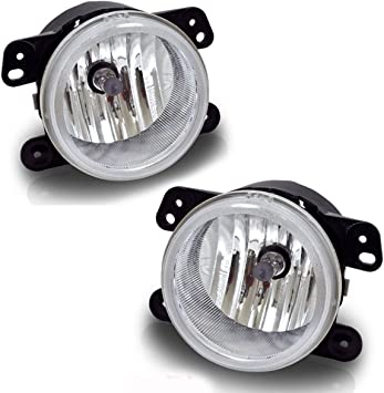 for 2005-2010 Chrysler 300 w// Touring Clear Bumper Fog Lights Lamps Replacement