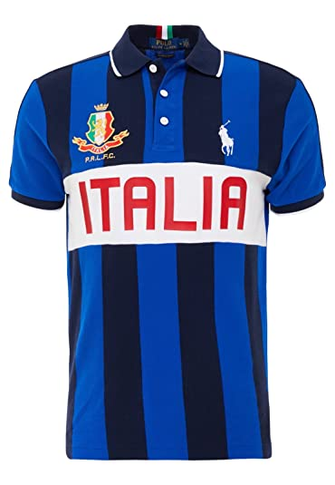 Xl Polo Ralph Taille Courtes Italie Manche Amazon Lauren wq7YvS