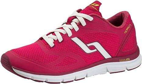 Pro Touch Zapatillas de Run oz Pro V W – Rojo/Rojo/Amarillo, Rot ...