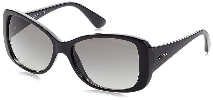 Vogue 0Vo2843S Gafas de sol, Black, 56 para Mujer