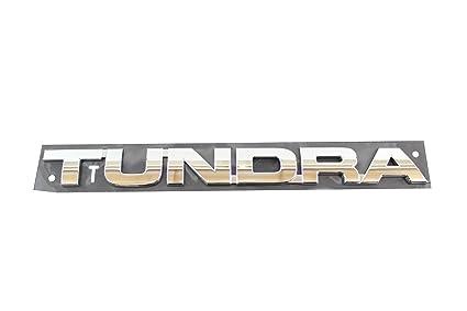 Genuine Toyota Accessories 75471-0C050 Tundra Emblem