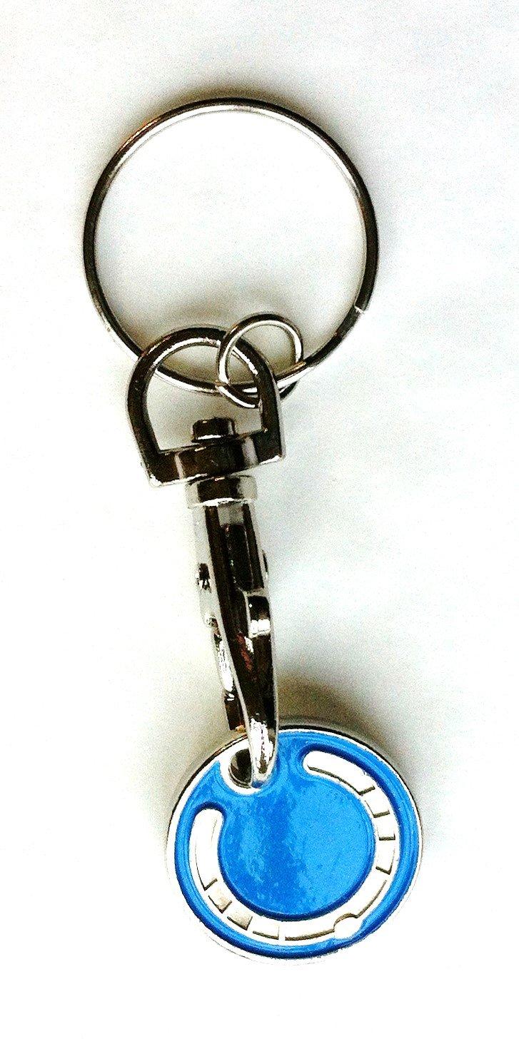 Llavero con moneda para carro de herradura: Amazon.es: Hogar