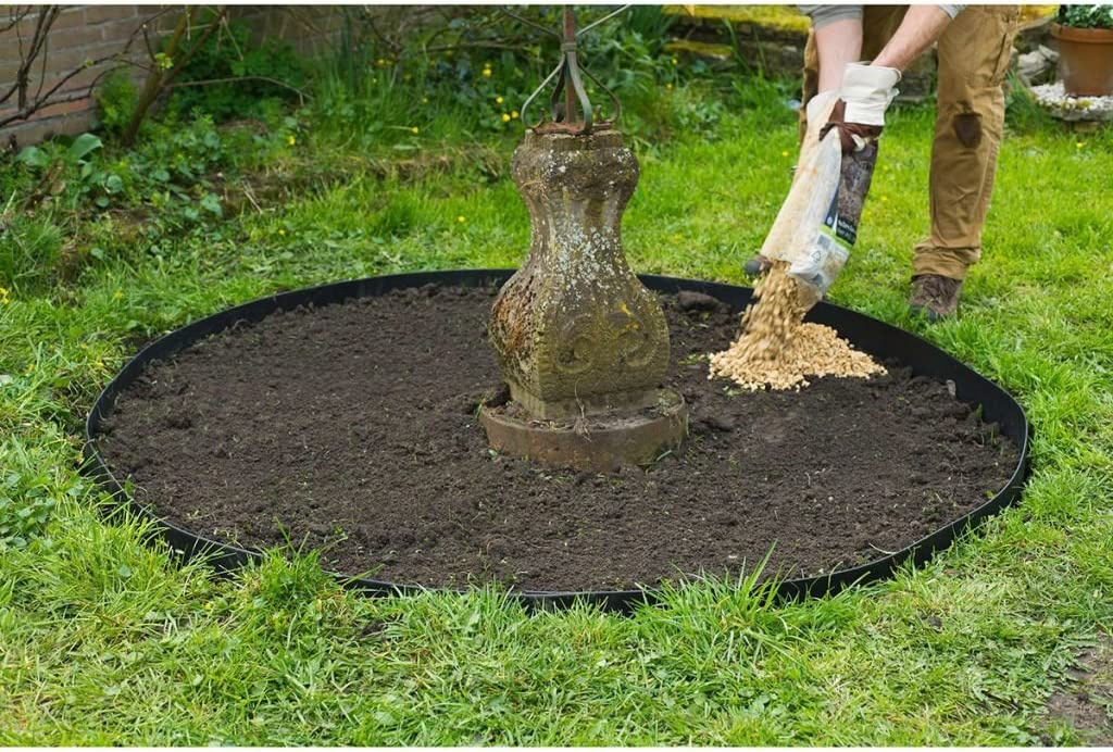 Nature Bordura para Jardín Negra 4mm 15m Ribetes y Borduras Jardinería Terraza: Amazon.es: Electrónica