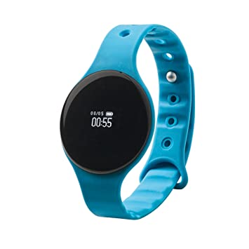 Clipsonic TEC586 Bracelet dactivité connecté Bleu