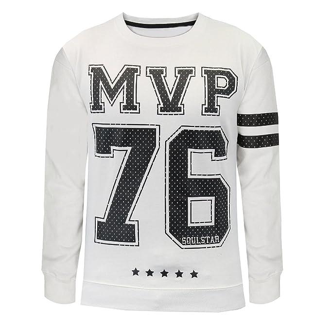 Soul Star chaqueta con-camiseta de fútbol americano Jersey MVP 76 Sport sudadera para hombre: Amazon.es: Ropa y accesorios