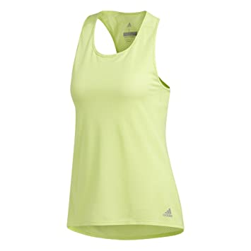 adidas Performance Damen Funktionstank gelb XL
