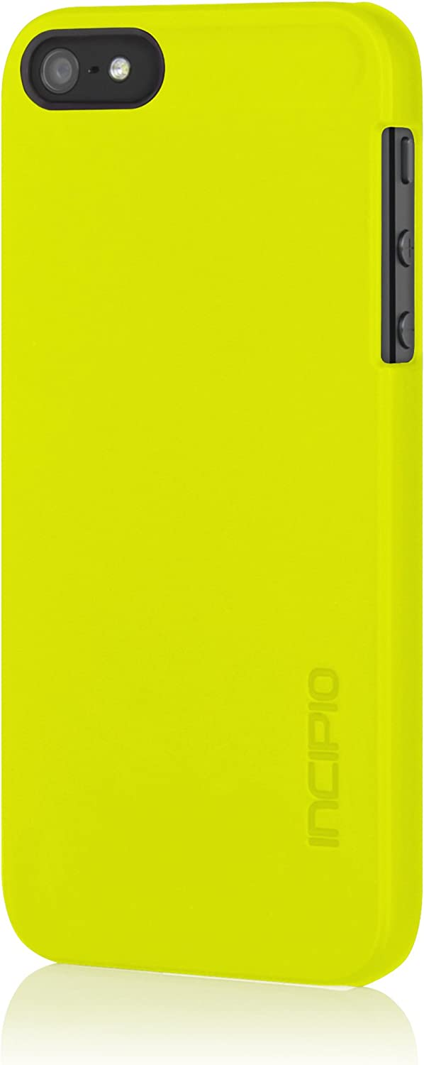 Incipio Feather Case for iPhone 5S - Retail Packaging - Lime Green