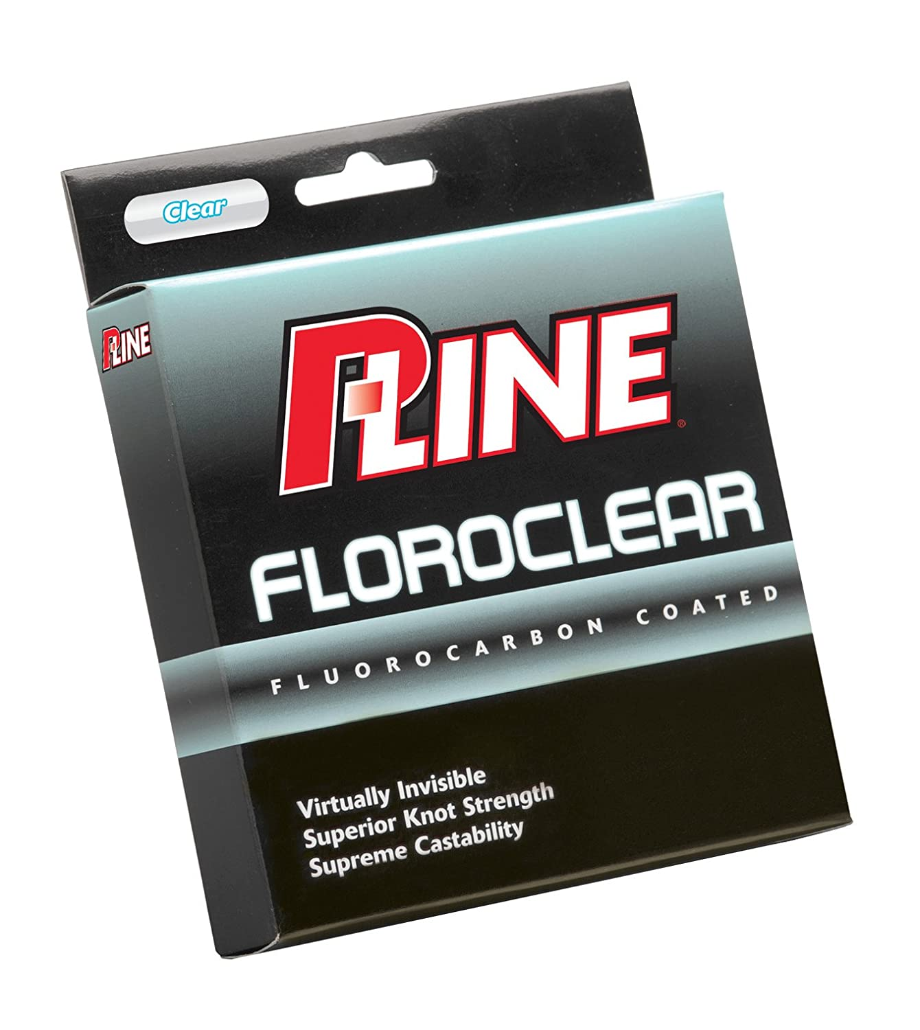 P-Line Floroclear Clear Fishing Line (Filler Spool)